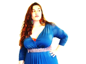 C'est une robe bleue…