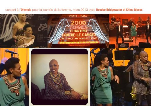 Deede Bridgewater et China Moses - Toubab Paris