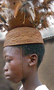 Betamaribe Young Boy - Scarification in Benin