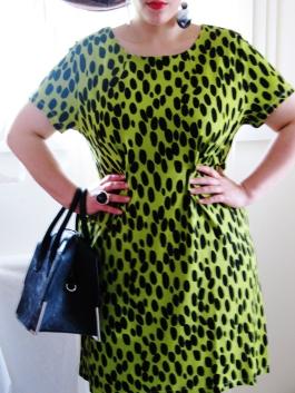 Une robe verte... By N'sqol