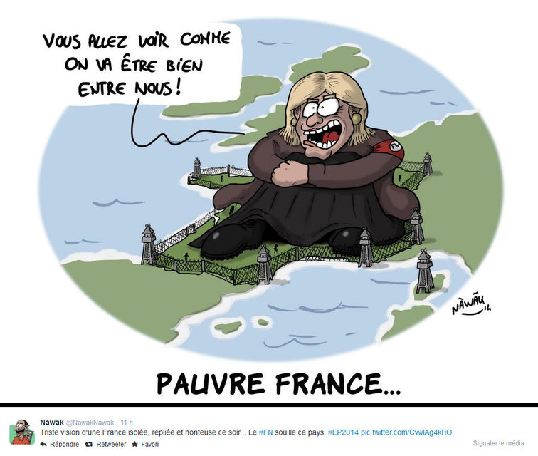 """You'll see as we will be well between us"" Poor France ..."
