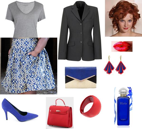 Belya X Vanoue avec Pleated Skirt Curvy