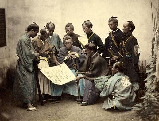 Samouraï, 1000 ans d'histoire au Japon.