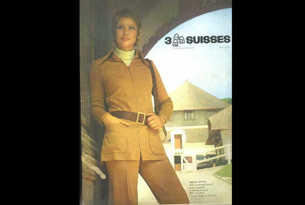 1967 Première femme en pantalon sur le catalogue et ça a fait scandal