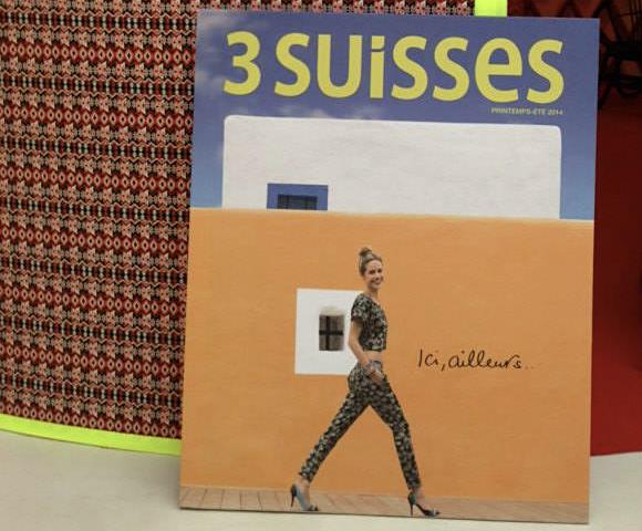 Printemps -été 2014 dernier catalogue papier des 3 Suisses