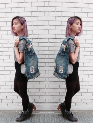 http://lookbook.nu/look/6215411-Korea-Ripped-And-Spiked-Denim-Jacket-With-Sewn
