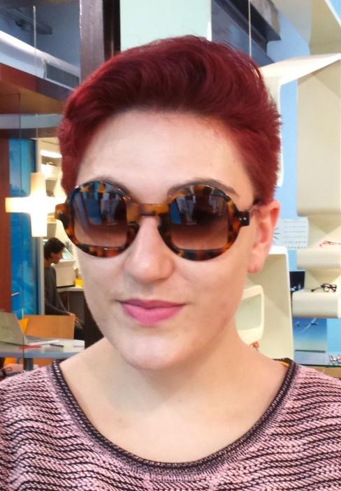 Sabine Be, opticienne à Orléans qui a créé sa ligne de lunette cette année