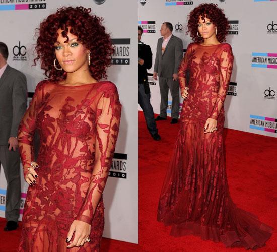 Rihanna en dentelle