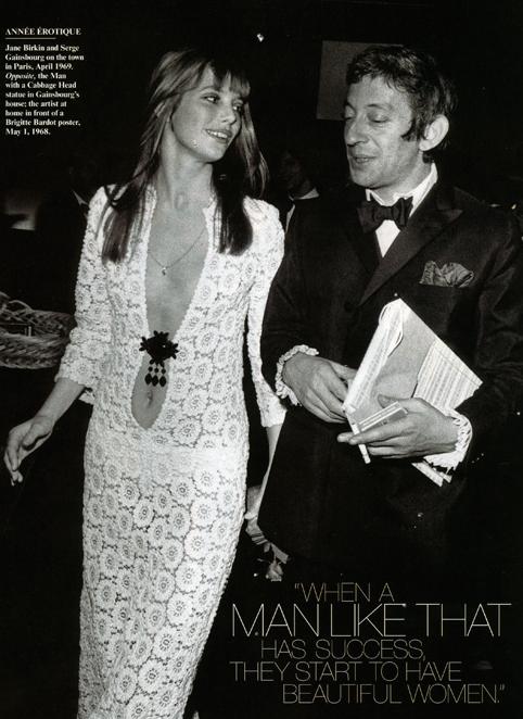 Jane Birkin en Guipure - 1969