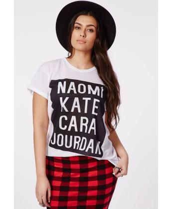 T-shirt blanc top models 17€