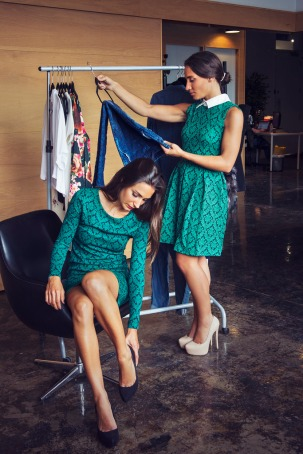 http://lecahier.com/look-dg-les-petites-robes-vertes/