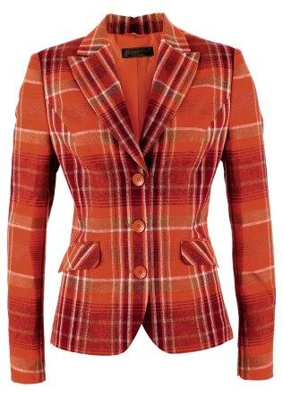 veste orange bonprix