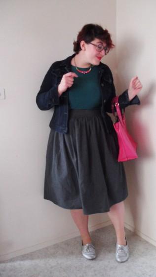 look-rose-vert-gris